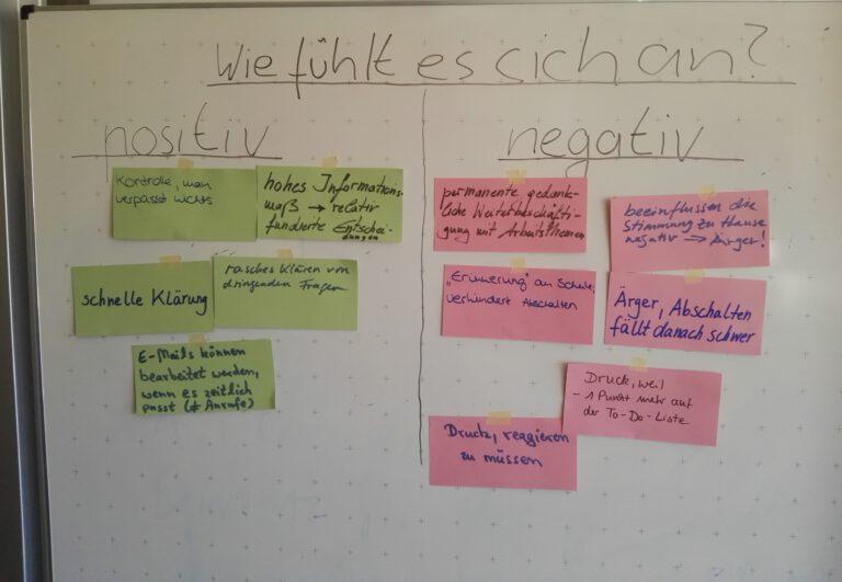 Seminare und Workshops zum Stressmanagement und zu ständiger Erreichbarkeit